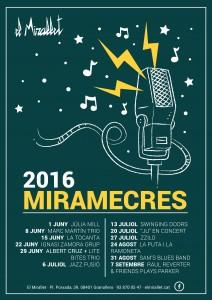Programa Miramecres 2016 granollers musica concert
