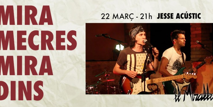 concert, miradins, miramecres, mirallet, granollers, jesse acustic, oh happy day,