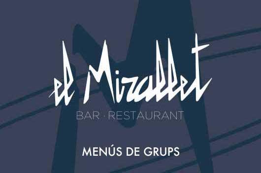 Menús de Grup - El Mirallet